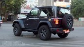 Jeep Wrangler Sahara 2 Door Spy Image Rear Three Q