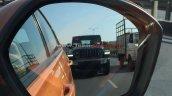 Jeep Wrangler Sahara Spy Image Front 2