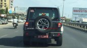 Jeep Wrangler Sahara Spy Image Rear 1