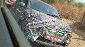 2020 Renault Kwid Facelift Front Fascia Spy Shot