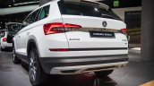 Skoda Kodiaq Scout Rear Three Quarters
