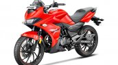 Hero Xtreme 200s Official Images Left Front Quarte