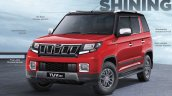 Accessorised Mahindra Tuv300 Front Three Quarters