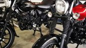 Bajaj Avenger 160 Abs At Dealership Left Front Qua