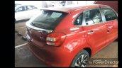 Toyota Glanza Rear Three Quarters Leaked Image