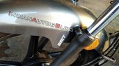 Tvs Radeon Grey Colour Front Fender