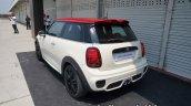 New Mini John Cooper Works Hatch Rear Three Quarte