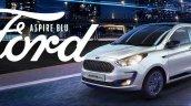 Ford Aspire Blu Exterior