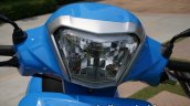 Hero Pleasure Launched In India Headlight