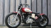 Modified Royal Enfield Classic 500 Bobber Left Sid