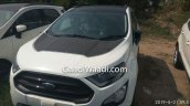 Ford Ecosport Thunder Edition Hood Decal Spy Shot