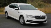 2019 Skoda Superb Facelift