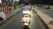 Bajaj Urbanite Scooter Spied Rear 2