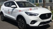 2020 Mg Zs Facelift Front Three Quarters Spy Shot