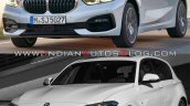 2019 Bmw 1 Series Vs 2015 Bmw 1 Series Front Three