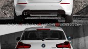 2019 Bmw 1 Series Vs 2015 Bmw 1 Series Rear