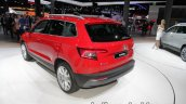 Skoda Karoq Rear Three Quarters Showcased At Iaa 2