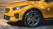 Kia Xceed Front Fascia Spy Photo
