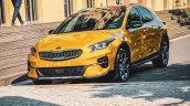 Kia Xceed Front Three Quarters Left Side Spy Photo
