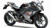 Kawasaki Ninja 300 Abs Moon Dust Grey