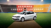 Vw Ameo Cup Edition Front Three Quarters