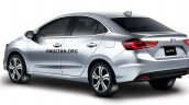 Next Gen 2019 Honda City Rear Three Quarters Rende