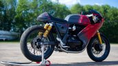Modified Royal Enfield Continental Gt650 Right Rea
