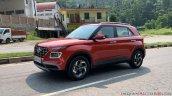 2019 Hyundai Venue Front Three Quarters Red 1