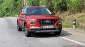 2019 Hyundai Venue Front Three Quarters Red 2