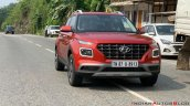 2019 Hyundai Venue Front Three Quarters Red 4