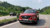 2019 Hyundai Venue Front Three Quarters Red 5
