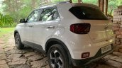 2019 Hyundai Venue Rear Three Quarters White 01