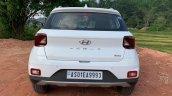 2019 Hyundai Venue Rear White