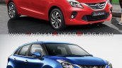 Baleno Vs Glanza 3