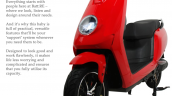 Battre Batmobile Electric Scooter Front Left Quart