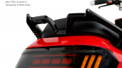 Battre Batmobile Electric Scooter Grab Rail