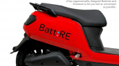 Battre Batmobile Electric Scooter Saddle And Body