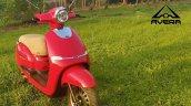 Avera Retrosa Electric Scooter Red