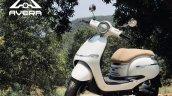 Avera Retrosa Electric Scooter White