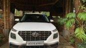 Hyundai Venue Front White