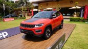 Jeep Compass Trailhawk Front Quarter