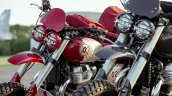 Royal Enfield Interceptors Great Malle Rally Headl