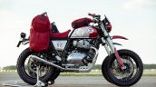 Royal Enfield Interceptors Great Malle Rally Left