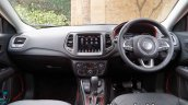 Jeep Compass Trailhawk Review Images Interior Dash