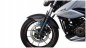Suzuki Gixxer 250 Leaked Images Front Wheel
