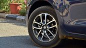 2018 Maruti Swift Test Drive Review Alloys Top End