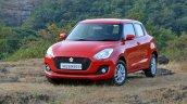 2018 Maruti Swift Test Drive Review Front Three Qu