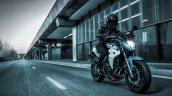 Cfmoto 400nk Riding Shot Blue