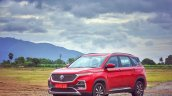 Mg Hector Review Images Front Three Quarters 11