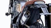 Modified Royal Enfield Himalayan Left Rear Quarter